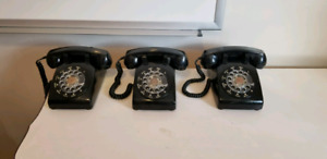 Cleaned and tested! 1970's Northern Electric Rotary Phones