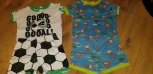 Both pj's size 4T and 5T
