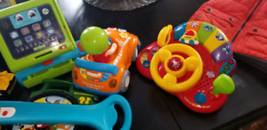 Huge bag full of fun toys for toddler or baby