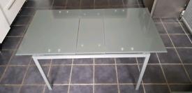 Argos Home Lido Glass Extending Table RRP £200
