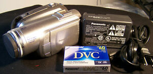 Panasonic PV-GS80 Ultra-Compact Mini DV Camcorder