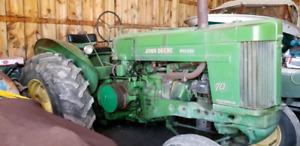 1955 John deere 70 diesel.