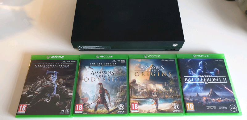 XBOX ONE X 1tb 4k HDR with great games | in Newtownabbey, County Antrim |  Gumtree