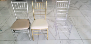Chivari chairs liquidation sale