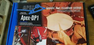 APEX ESSENTIAL DRUM MICROPHONE PACKAGE DP1