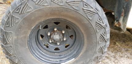 Kuhmo mud tyres and rims 33/12.5/15 Tootgarook Mornington Peninsula Preview
