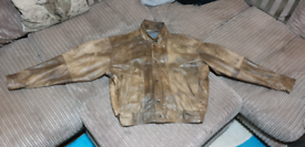 Paragon reversible leather jacket