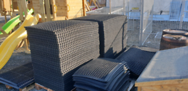 Rubber mats for horse stables & cow mats