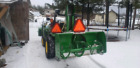 Snow blowing/snow plowing