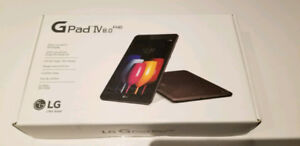 Brand new unlocked LG GPad4 LTE & WiFi 32gb cellular tablet