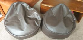 Habitat Faux Leather Bean bags