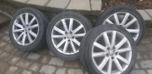 VW Mags & Tires 5x112