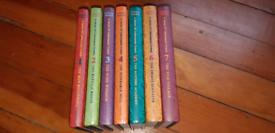 A series of unfortunate events books 1-7