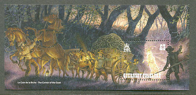 Guernsey-Folklore min sheet  mnh 2017-myths/legends