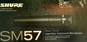 SHURE SM57 LC Microphones (brand-new)