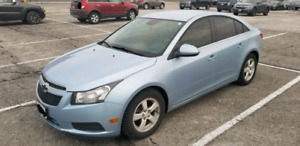 2012 Chevy Cruze lt (safetied)