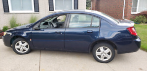 2007 Saturn Ion.  Free winter tires. Saftied. $2400. OBO