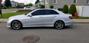 2012 Mercedes E63 AMG 5.5L Bi-Turbo Performance Package