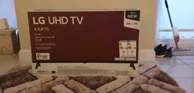 LG UHD SMART TV **NEW**