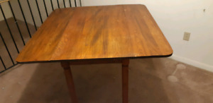 Very old folding table