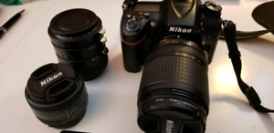 Nikon d7100 with accessories