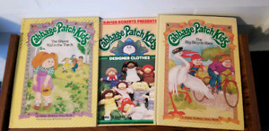 Vintage Cabbage Patch Kids story books with bonus