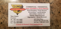 Snow plowing and snow removal: residential or commercial