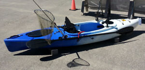MID WINTER SALE, Strider kayak w. seat  and paddle $545 NOW $465