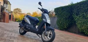 Kymco agility 50cc scooter a