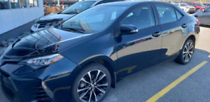 2018 Toyota Corolla lease $1000 cash immediately to who takes it