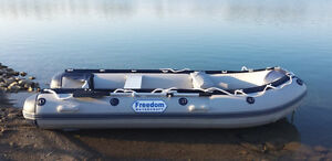 FREEDOM WATERCRAFT MISSISSIPPI ROLLAWAY 11 Ft Inflatable Boat