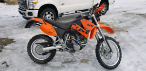 2003 KTM 640 Adventure, dual Sport motorcycle