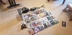 Working xbox360 and games