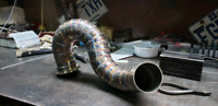 Tig Welding intercooler pipe + stainless pipe+ Machining service