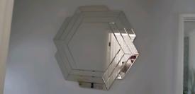 Next wall mirror