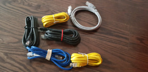 some RJ45 and RJ11 patch-cords
