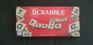 Scrabble - only used once!