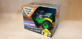 Monster Jam Grave Digger Rev 'N Roar Toy Car Truck
