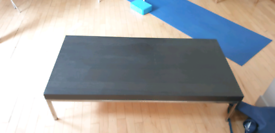 Black TV table for sale £10