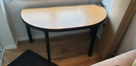 IKEA Bekant half round desk/table