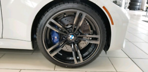 Brand new BMW M2 Rims and Tires
