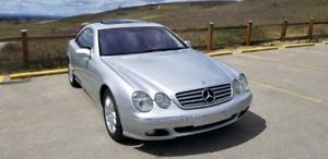 Mercedes-Benz CL 500, 2001, 49500 km 13 950 OBO