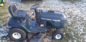 Craftsman 19hp Lawn Tractor 6 Speed