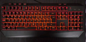 Backlit Asus Mechanical Gaming Keyboard