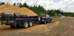 Dump Trailer / Dumpster Rental (15 cubic yards)