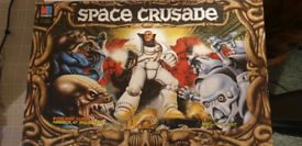 Classic Space Crusade Board Game w/Mission Dreadnought Expansion