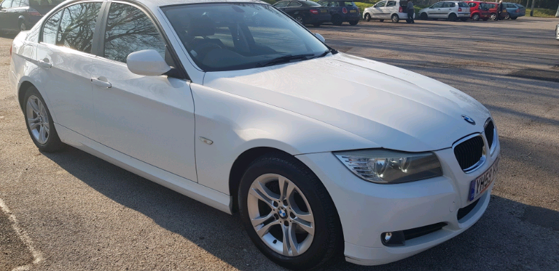 BMW 3 Series   White Facelift with Premium Pioneer sound System | in  Southampton, Hampshire | Gumtree