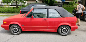 Golf karman cabriolet 1989