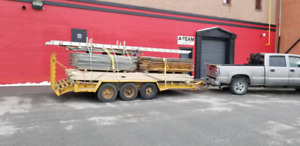 23 ft triaxle trailer for sale