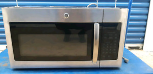 Stainless steel over the range microwave(GE)